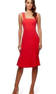 Kookai Red Costanza Dress Size 36