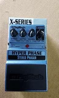 Phaser effect pedal