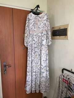 Long Sleeve Floral Dress BYSI