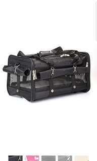 Sherpa on wheels pet dog carrier size Large