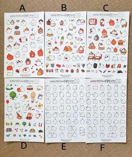 [S]Molang stickers party
