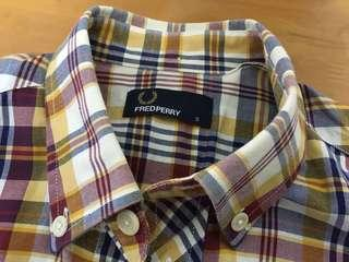 Fred Perry shirt 格仔恤衫