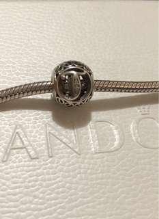 Authentic Pandora Vintage T charm