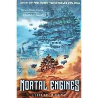 EBOOK INDO INGGRIS Philip Reeve Mortal Engines novel fantasi