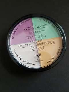 Wet n wild  colour correcting palette