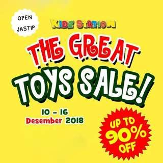Open Jastip The Great Toys Sale Kidz Station