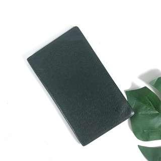 AUTHENTIC LOUIS VUITTON LONG WALLET TAIGA LEATHER DARK GREEN DATECODE: MI0091 (LV2803)