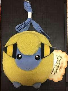 日本 東京 寵物小精靈 Pokemon center 咩利羊 斜揹袋 斜咩袋