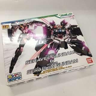 HG 1/144 Gundam Expo Clear Edition Seravee and Seraphim Gundam