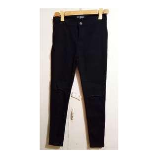 Knee Cut Highwaist jeans