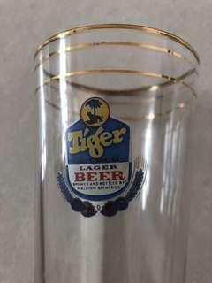 Vintage Tiger glass