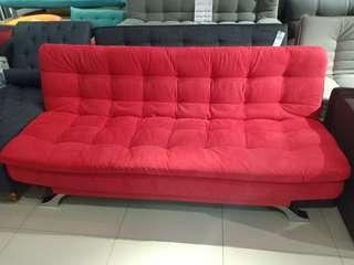 New Item! Relax Sofa Red Cicilan Tanpa DP Acc Hari Ini
