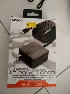Nyko Ac power Cord (just try once to test)