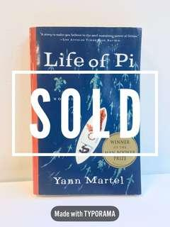 The Life of Pi by Yann Martel