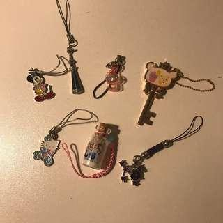 Assorted Keychains