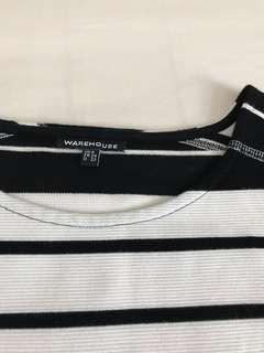 Minimalist Stripe Dress