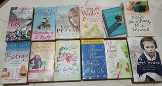 USED English Books / Novels For Sale CHEAP..!!!