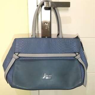Guess blue bag ori