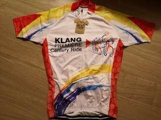 Klang premier century ride cycling jersey