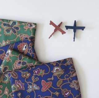 🚚 Handmade batik pencil case / cosmetic pouch / pouch