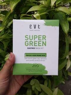 Preloved evete super green easy mix mask kit
