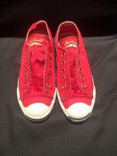 Authentic Converse Red Jack Purcell