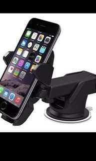 Universal car holder car stand long neck 360 rotation phone sucker easy one touch car mount