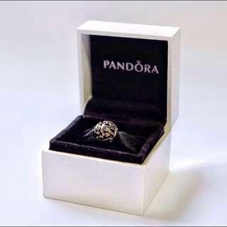<🎄🎁 SPECIAL!!> Pandora Two-toned Family Charm