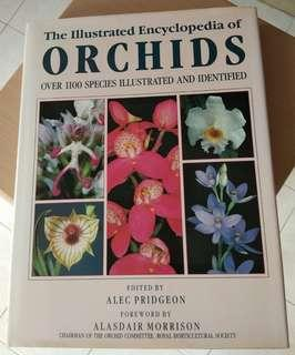 The illustrated encyclopedia of orchids over 1100 species illustrated & identified book plants