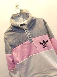 Adidas tricolour jumper