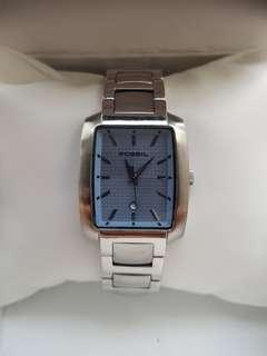 Fossil watch for ladies with stainless steel bracelet