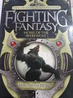 Howl of the werewolf fighting fantasy