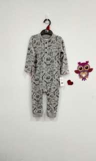 🆕9-12M Mothercare Sleepsuit