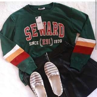 SEWARD SWEATER P&B
