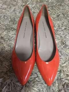 Marc by Marc Jacobs Patent Low Heel Pumps