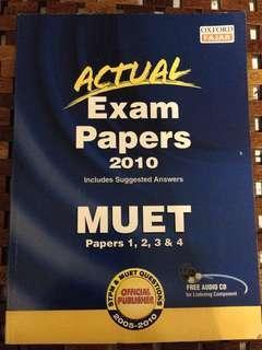 MUET exam papers 2010