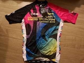 Kayuhan hari sukan Cycling Jersey