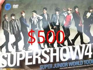 🚚 SJ SUPERJUNIOR SUPERSHOW4 DVD