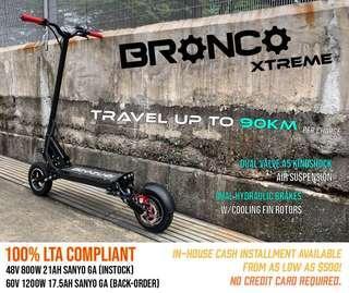Bronco Xtreme: 48V/60V Up to 100KM