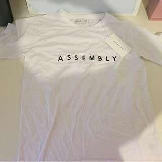 Assembly Label Logo Tshirt