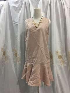 Baby pink dress