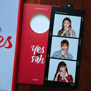 (WTS) TWICE - YES OR YES BOOKMARK