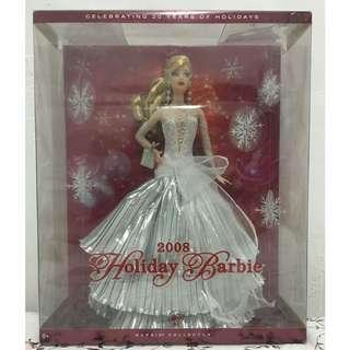 BARBIE 2008 Holiday Barbie