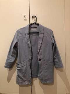 Blazer Cotten On Blue Size 10