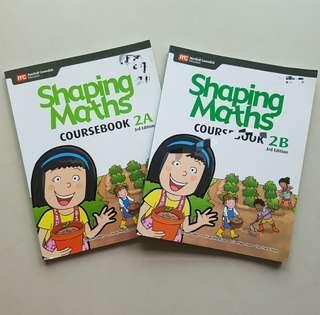 P2 Shaping Maths textbook
