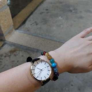 brand new chakra bracelet (: