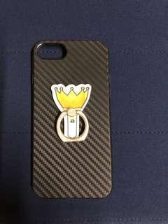 Apple Iphone 7 / 8 Case Black Rubber Case Bigbang
