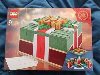 Lego Christmas gift box 40292. Limited edition