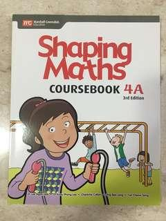 Shaping Maths coursebook 4A and 4B