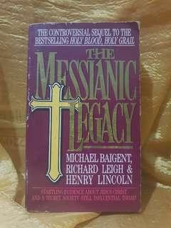 Pre-loved Books: The Messianic Legacy by Baigent, Leigh, Lincoln